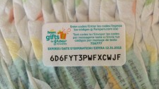 pampers codes