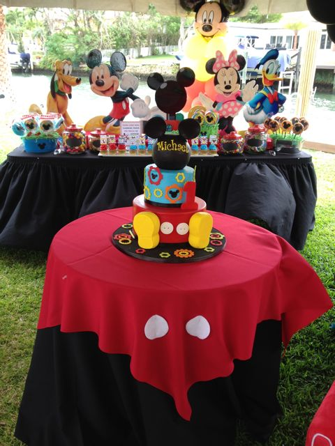 Mickey Mouse Clubhouse Birthday Party 53 Weeks