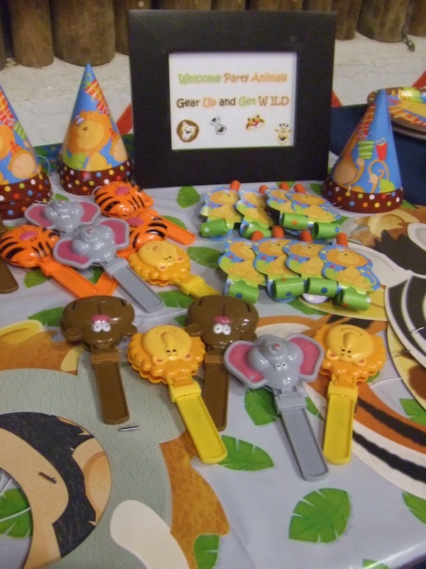 Zoo Animals Party Favors Best Zoo 2017