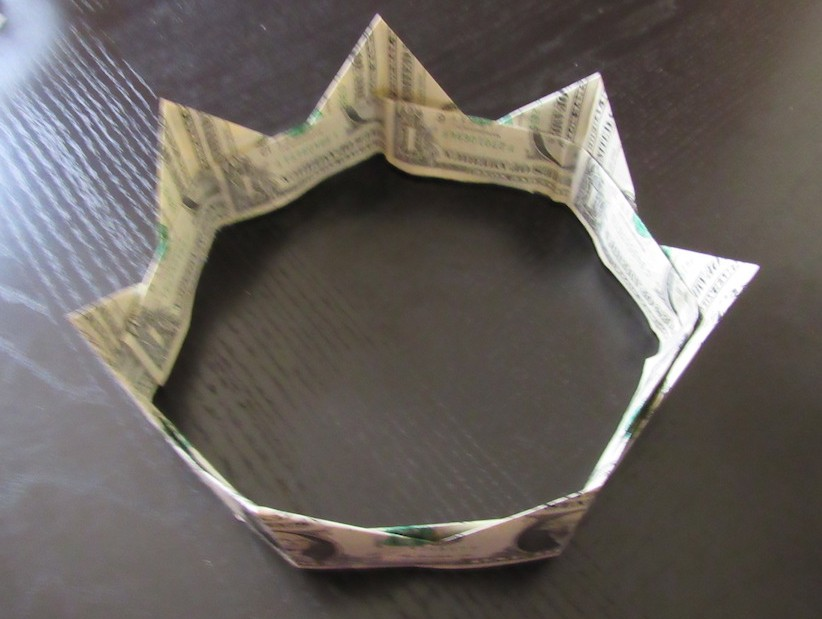 How To Make A Money Lei And Crown 53 Weeks