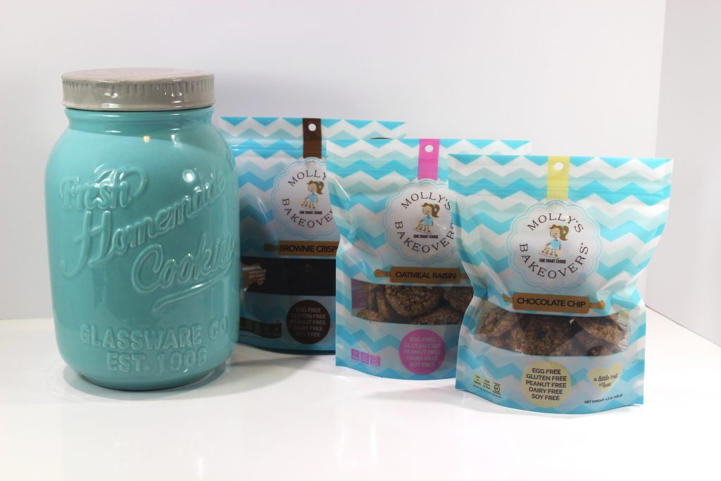 Cookie Jar with 3 Flavors